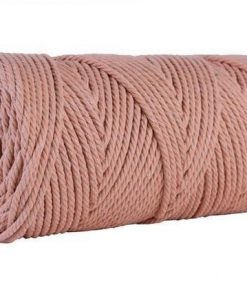 Brick Red Macramé wire 4mm for 100m